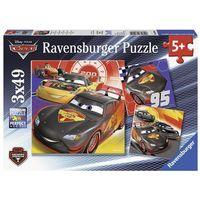 Puzzle, Ravensburger Puzzle 3 x 49 - Disney Pixar Cars: Przygoda na ulicy