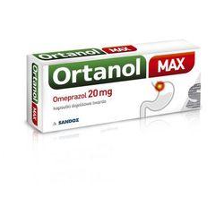 ORTANOL MAX 20mg x 7 kapsułek - 7 kapsułek