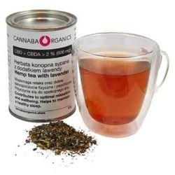 Herbata konopna z kwiatostanów konopi z lawendą (30 gram)