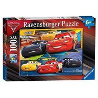 Puzzle, Puzzle 100 XXL Cars 3 Zawrotna prędkość - Ravensburger DARMOWA DOSTAWA KIOSK RUCHU