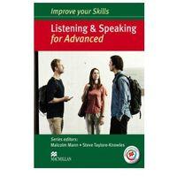 Książki medyczne, Improve Your Skills for Advanced. Listening and Speaking. Podręcznik bez Klucza + Kod Online (opr. miękka)