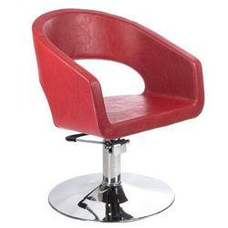 Fotel fryzjerski Paolo BH-8821 czerwony