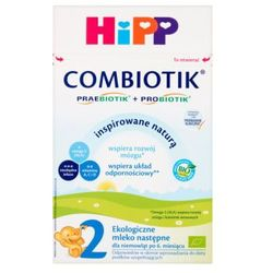 HIPP Bio Combiotik 2 Ekologiczne mleko następne po 6ms, 600g
