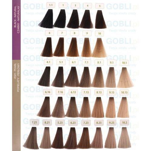 Farbowanie włosów, Montibello Oalia farba BEZ AMONIAKU z olejkiem arganowym 60ml 1 czarny