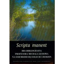 Scripta manent (opr. miękka)