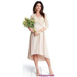 ubrania ciążowe Sukienka ciążowa wieczorowa Milion dolar Happymum Piękny Brzuszek
