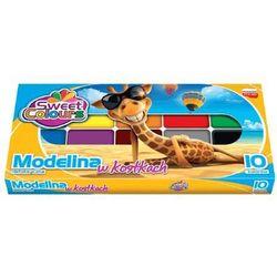 Modelina 10 kolorów - KOMA-PLAST