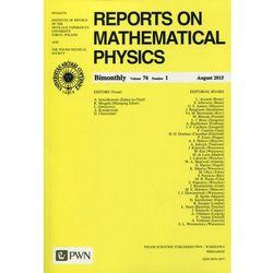 Reports on Mathematical Physics 76 2015 kraj - Wydawnictwo Naukowe PWN (opr. miękka)