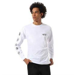 koszulka VANS - Mn Rowan Zorilla Faces Ls White (WHT) rozmiar: L