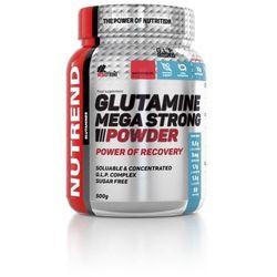 Nutrend Glutamine mega strong powder 500g Poncz z żurawin