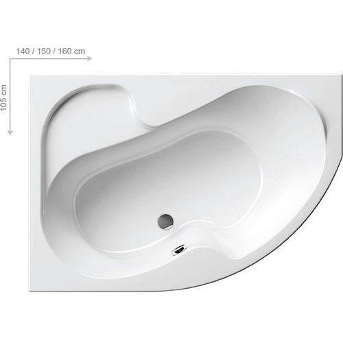 Wanny, Ravak Rosa 140 x 105 (CI01000000)