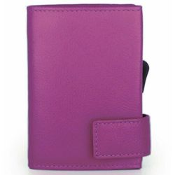 SecWal SecWal 1 Kreditkartenetui Geldbörse RFID Leder 9 cm pink ZAPISZ SIĘ DO NASZEGO NEWSLETTERA, A OTRZYMASZ VOUCHER Z 15% ZNIŻKĄ