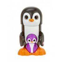 Figurki i postacie, Peeky Pals- Zerkające zwierzątka Pingwin