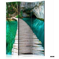 SELSEY Parawan 3-częściowy - Szmaragdowe jezioro