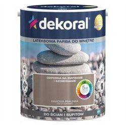 Farba Lateksowa Akrylit W Kolor Kawowa Pralinka 5l Dekoral