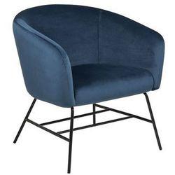Fotel Ramsey VIC navy blue