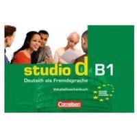 Książki do nauki języka, Studio d B1 zeszyt słówek (opr. miękka)