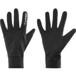 Craft Rękawiczki pięciopalcowe black Przy złożeniu zamówienia do godziny 16 ( od Pon. do Pt., wszystkie metody płatności z wyjątkiem przelewu bankowego), wysyłka odbędzie się tego samego dnia.