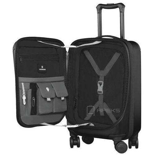 """Torby i walizki, Victorinox Spectra™ 2.0 mała poszerzana walizka kabinowa 23/55 cm na laptopa 15,6"""" / czarna - Black ZAPISZ SIĘ DO NASZEGO NEWSLETTERA, A OTRZYMASZ VOUCHER Z 15% ZNIŻKĄ"""