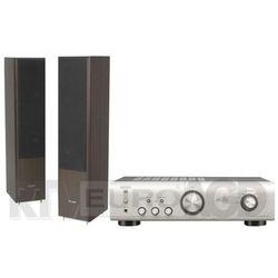 Denon PMA-520AE (srebrny), Pylon Audio Coral 25 (wenge)