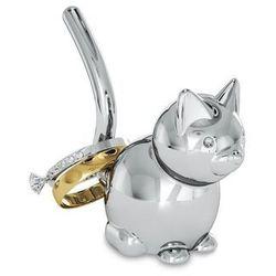 Umbra - stojak na pierścionki - zoola cat - stal polerowana