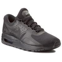 Buty sportowe dla dzieci, Buty NIKE - Air Max Zero Essential (GS) 881224 006 Black/Black/Black