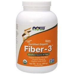 Fiber-3 Błonnik certyfikowany organiczny 454g