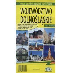 Województwo dolnośląskie Mapa administracyjno-turystyczna 1:270000