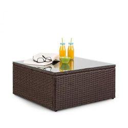 Blumfeldt Theia Table stół ogrodowy technorattan brązowy