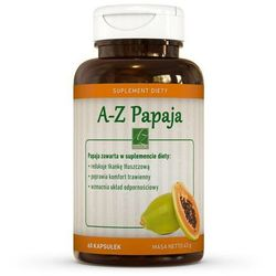 A-Z Papaja 650mg 60 kaps.