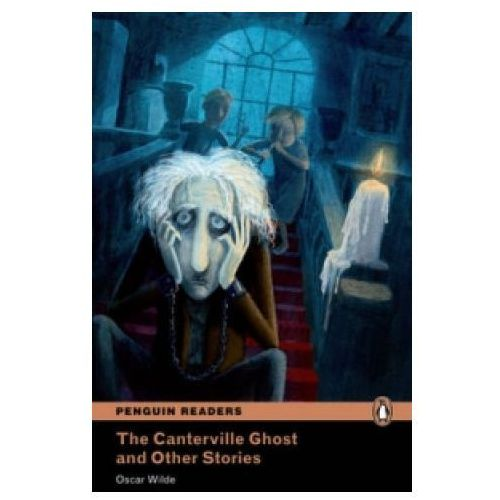 Książki do nauki języka, The Canterville Ghost And Other Stories Plus MP3 CD (Duch Canterville'ów i inne opowieści) Penguin Readers Classic (opr. miękka)