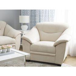 Fotel tapicerowany beżowy STAVANGER