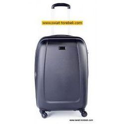 PUCCINI walizka duża z kolekcji ABS01 twarda 4 koła materiał ABS zamek szyfrowy z systemem TSA