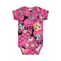 Różowe body dla niemowlaka 6T39A3 Oferta ważna tylko do 2023-11-26