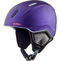 Kaski i gogle, Alpina Carat XT Kask narciarski Dzieci, royal-purple matt 54-58cm 2018 Kaski narciarskie