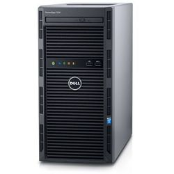 Serwer Dell PowerEdge T130 w obudowie typu tower Serwer z jednym procesorem w obudowie typu mini-tower — wydajny pierwszy system dla małej firmy i biura domowego, który przyspiesza konsolidację danych i ułatwia obsługę aplikacji.