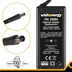 Whitenergy Zasilacz 19.5v/3.34a Wtyk 7.4x5.0mm