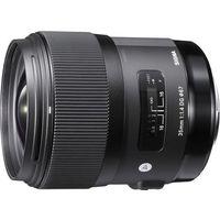 Obiektywy fotograficzne, Obiektyw SIGMA A 35/1.4 DG HSM Nikon + DARMOWY TRANSPORT!