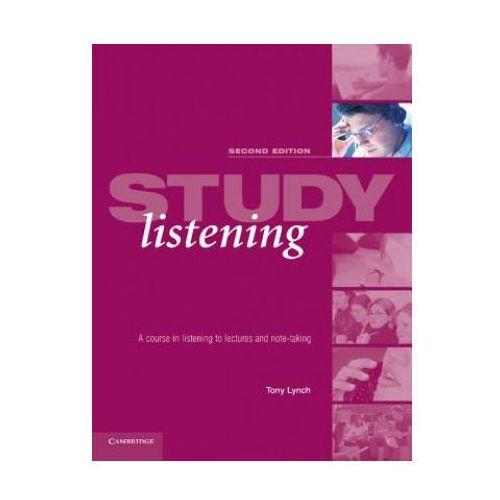 Książki do nauki języka, Study listening Student&-8217;s Book (opr. miękka)