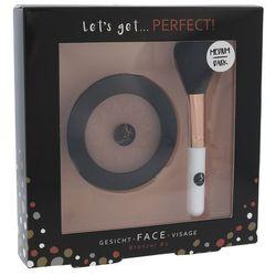 2K Let´s Get Perfect! zestaw Bronzer 10 g + Pędzel 1 szt dla kobiet