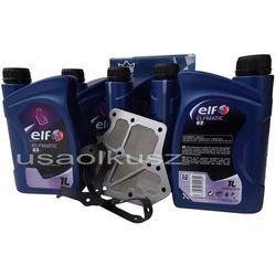 Filtr oraz olej ELF ATF-III automatycznej skrzyni biegów Nissan Quest