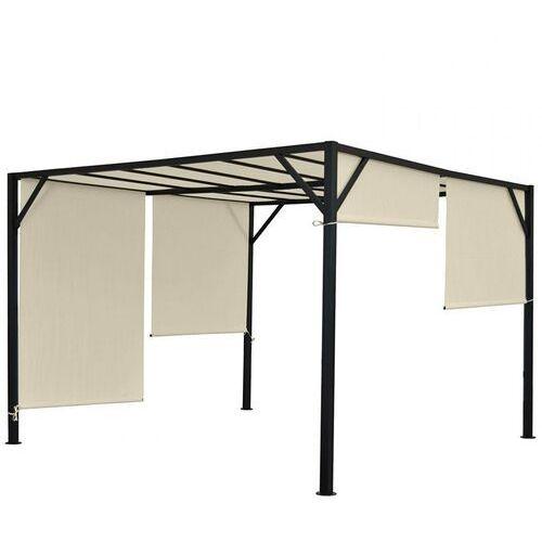 Namioty ogrodowe, Pawilon ogrodowy Baia Pergola 4 x 4 dach przesuwny