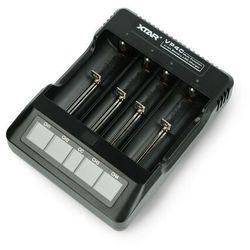 Ładowarka do akumulatorów cylindrycznych Li-Ion 18650 XTAR VP4C - 1-4szt.