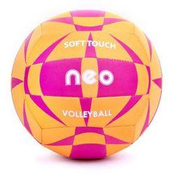 Spokey NEO SOFT - Piłka siatkowa neoprenowa; r.5 - Pomarańczowy