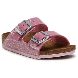 Klapki BIRKENSTOCK - Arizona Kids 1018865 Cosmic Sparkle Candy Pink