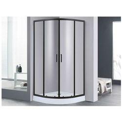 Narożna ścianka prysznicowa z brodzikiem SIDOA – 80 × 80 × 192 cm (dł. × szer. × wys.)