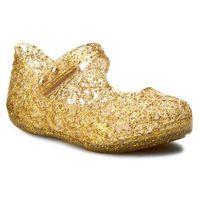 Półbuty i trzewiki dziecięce, Półbuty MELISSA - Mini Melissa Campana Zig Zag V 31510 Clear/Gold/Glitter 03518