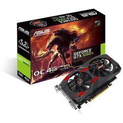 ASUS GeForce GTX 1050 TI OC 4GB 128BIT DVI/HDMI/DP/HDCP CERBERUS-GTX1050TI-O4G