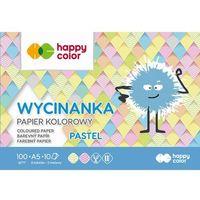 Wycinanki, Blok wycinanka pastel a5/10k 100g happy color