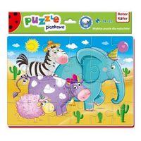 Puzzle, Miękkie puzzle A4 Śmieszne zdjęcia RK1201 02 - Roter Kafer